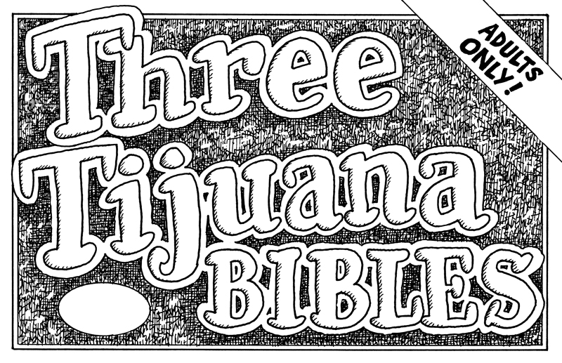 Three Tijuana Bibles – WARNING