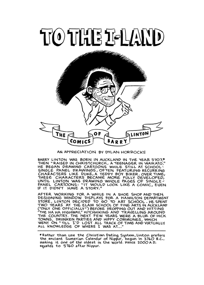 To The I Land – page 1 of 11