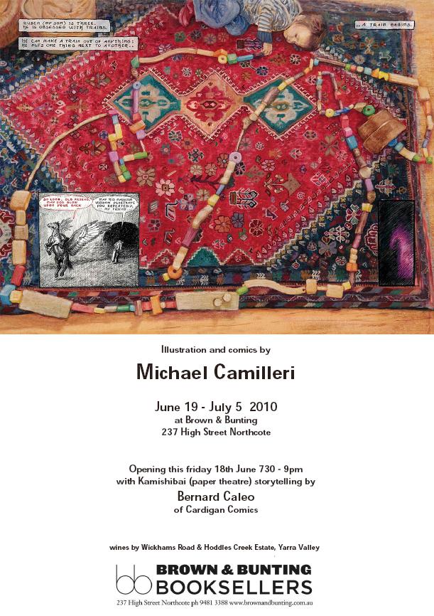 Michael Camilleri invite