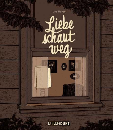 Line Hoven Liebe schaut weg Reprodukt german comic